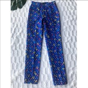 Versace Jeans Couture High Rise Floral Jeans